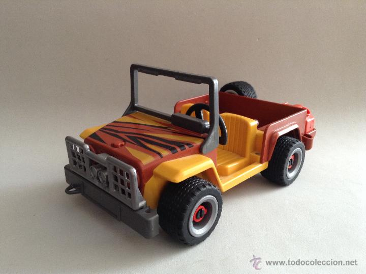 playmobil jeep safari desierto safari coche 4x4 comprar. Black Bedroom Furniture Sets. Home Design Ideas