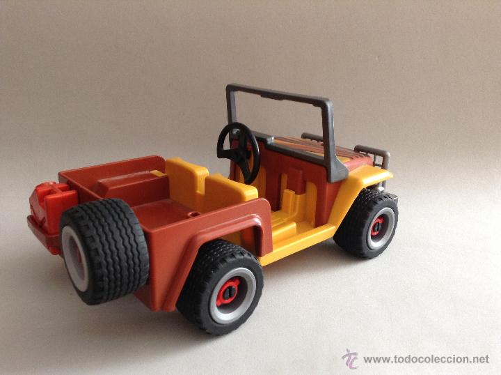 playmobil jeep safari desierto coche 4x4 todote vendido. Black Bedroom Furniture Sets. Home Design Ideas