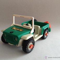 Playmobil: PLAYMOBIL ANTIGUO JEEP SAFARI DESIERTO COCHE 4X4 TODOTERRENO PIEZAS. Lote 51088048