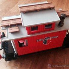 Playmobil: PLAYMOBIL APRECIADO VAGON 4123 TREN COLORADO 4054 SPRINGS ESTACION TREN OESTE WESTERN. Lote 51106828