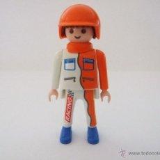 Playmobil: PLAYMOBIL PILOTO, MECÁNICO, PLAYMOBIL RALLY TEAM. Lote 51150071