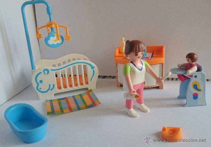 Playmobil Habitaci N Beb Casa Mansi N Moderna Comprar