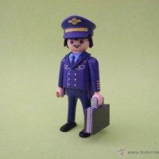 Playmobil: PLAYMOBIL COMANDANTE DE AVIÓN, PILOTO, TRIPULACIÓN. Lote 51394921