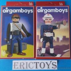 Playmobil: AIRGAMBOYS, AIRGAM BOYS - CACO Y POLICIA 703, 701 NUEVO!!!- SERIE CIUDAD - ERICTOYS 003 -. Lote 51499177