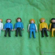Playmobil: LOTE DE 6 FAMOBIL Y PLAYMOVIL 1ª EPOCA ,GEOBRA 1974.. Lote 51586626