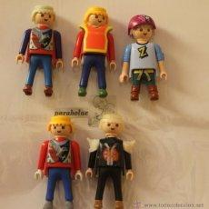 Playmobil: SET DE 5 FIGURAS DE PLAYMOBIL DE DIFERENTES MODALIDADES. Lote 51617313