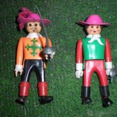 Playmobil: DOS MUÑECOS DE PLAYMOBIL COLECCIÓN MOSQUETEROS. Lote 51661958