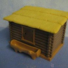 Playmobil: PLAYMOBIL CABAÑA CON ABREVADERO BOSQUE MEDIEVAL BELEN CASTILLO MEDIEVALES VARIOS PIEZAS. Lote 75209177