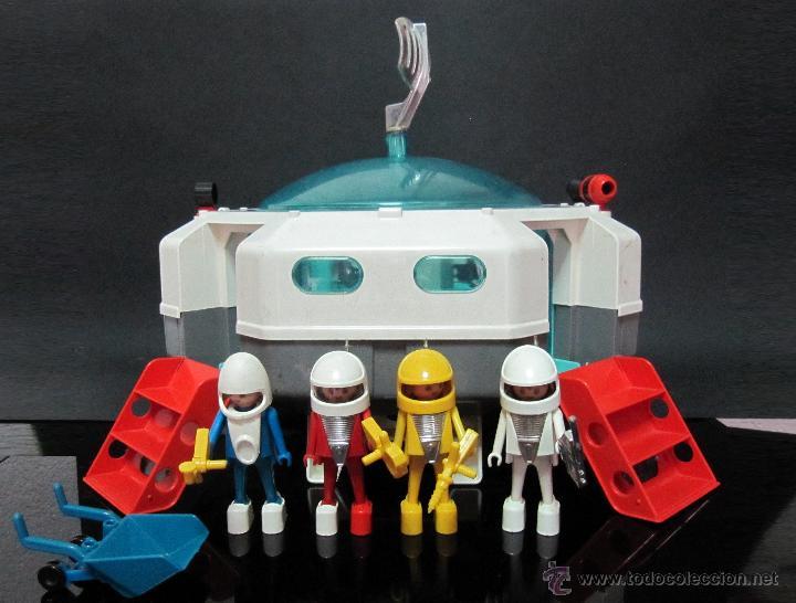 Nave espacial playmovil base lunar 1980 famo comprar for Nave espacial playmobil