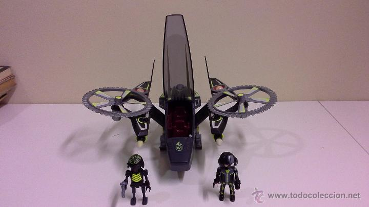 Set nave espacial de ataque mega master ref 52 comprar for Nave espacial playmobil
