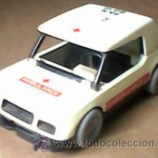 Playmobil: AMBULANCIA FAMOBIL GEOBRA CLICK DE PLAYMOBIL SYSTEM 1976 - ESCASA. Lote 52165810