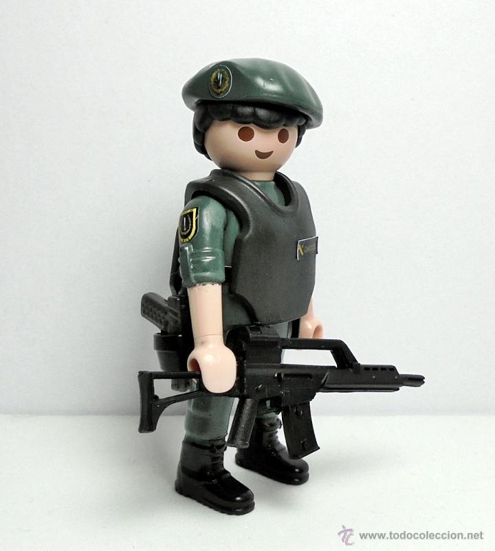 playmobil custom serie policia unidad elite comprar