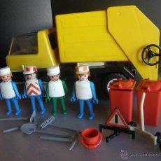 Playmobil: FAMOBIL. REF. 3470. CAMIÓN DE RECOGIDA DE BASURAS. Lote 53060492