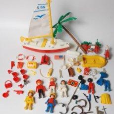 Playmobil: CLIC DE FAMOBIL, VELERO, MOTOS, MANIQUIES Y ACCESORIOS VARIOS. Lote 53065653