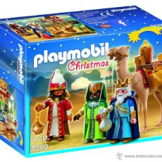 Playmobil: PLAYMOBIL REYES MAGOS NAVIDAD 5589 ROMANO ROMANOS MEDIEVAL BELEN CASTILLO MEDIEVALES NUEVO EN CAJA. Lote 143225957