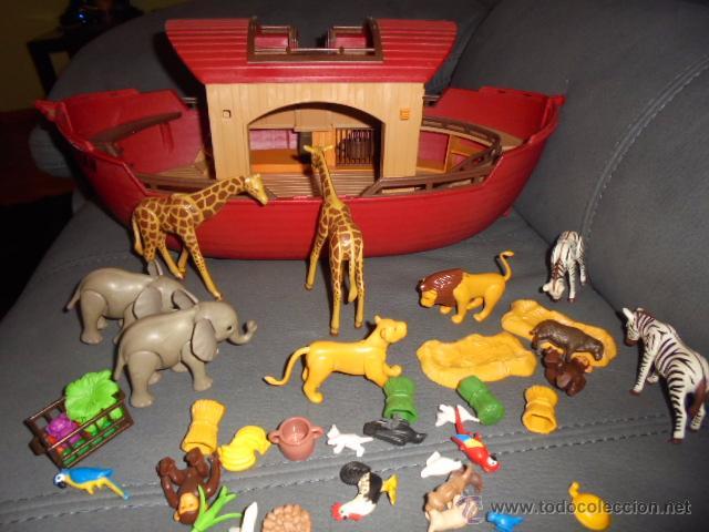 Arca De Noe Con Muchos Animales Y Accesorios Ar Comprar