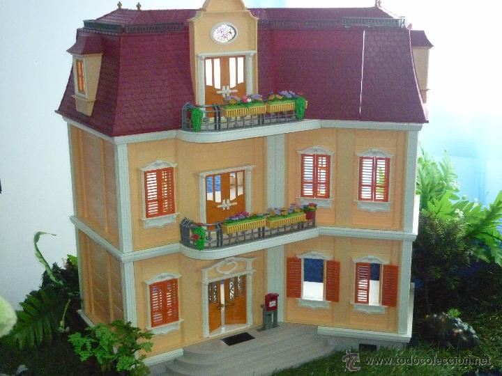 Casa de playmobil ref 5302 con caja origina comprar for Casa playmobil precio