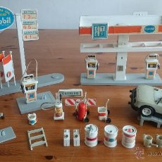 Playmobil: GASOLINERA ESTACION DE SERVICIO DE FAMOBIL PLAYMOBIL GEOBRA. Lote 53578450