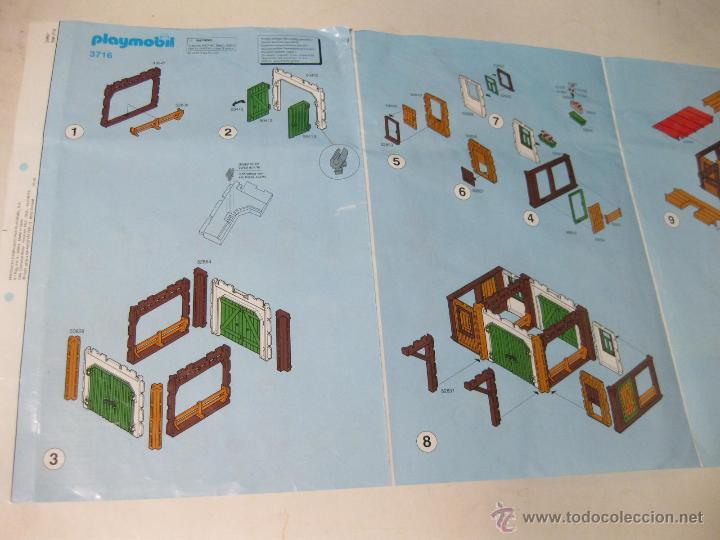 Instrucciones algo usadas de la granja playmobi comprar for La granja de playmobil precio