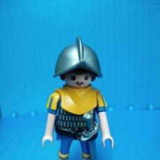 Playmobil: PLAYMOBIL 4684 GUERRERO SOLDADO MEDIEVAL MUÑECO CLICK PLAYMOVIL. Lote 53821381