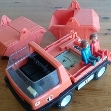 Playmobil: CAMIÓN PORTA-CONTENEDORES DE FAMOBIL - PLAYMOBIL. Lote 53954029