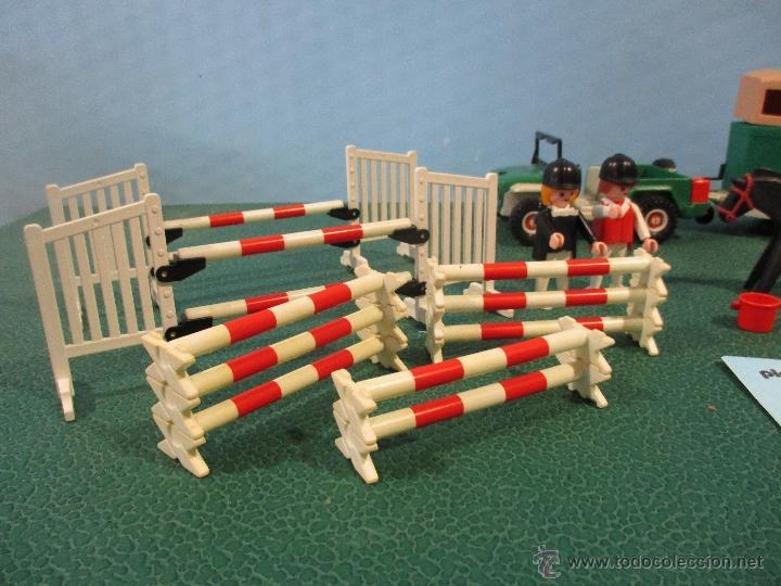 Playmobil: PLAYMOBIL-REF-3140-AÑO 86-JEEP CON REMOLQUE-HIPICA-COMO NUEVO,CON INSTRUCCIONES - Foto 7 - 53976092