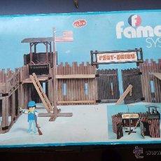 Playmobil: CAJA ANTIGUA DE PLAYMOBIL FAMOBIL REF 3420 FORT UNION CAJA MUY DIFICIL. Lote 53979530