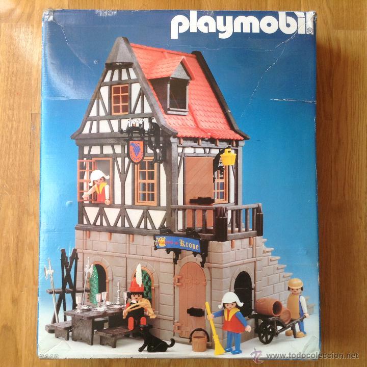 Playmobil apreciada caja vacia 3448 meson casa comprar for Casa playmobil precio