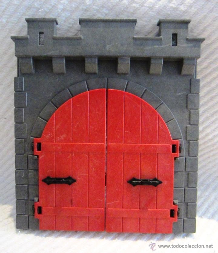 Playmobil puertas grandes castillo dragon 3269 comprar for Puertas para piezas