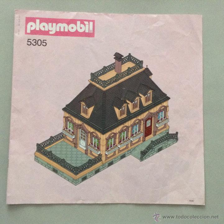 PLAYMOBIL INSTRUCCIONES ORIGINALES MONTAJE GRANDE VICTORIANO CASA  VICTORIANA 5305 PIEZAS (Juguetes   Playmobil)