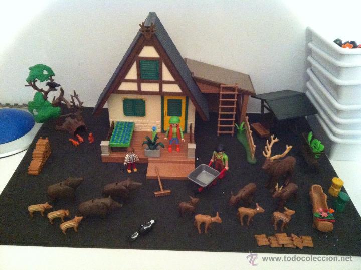 Playmobil casa del guardian del bosque conjun comprar for Casa playmobil precio
