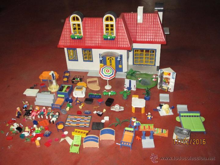 Descatalogada casa moderna y supermercado con u comprar for Casa moderna playmobil