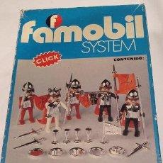 Playmobil: FAMOBIL REF 3261. CABALLEROS MEDIEVALES. AÑOS 70. Lote 54622281