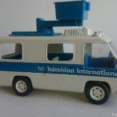 Playmobil: UNIDAD MOBIL TELEVISIÓN DE FAMOBIL - PLAYMOBIL. Lote 54624494