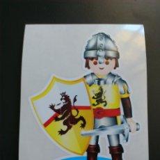 Playmobil: PEGATINA PLAYMOBIL GUERRERO EDAD MEDIA. Lote 71930525