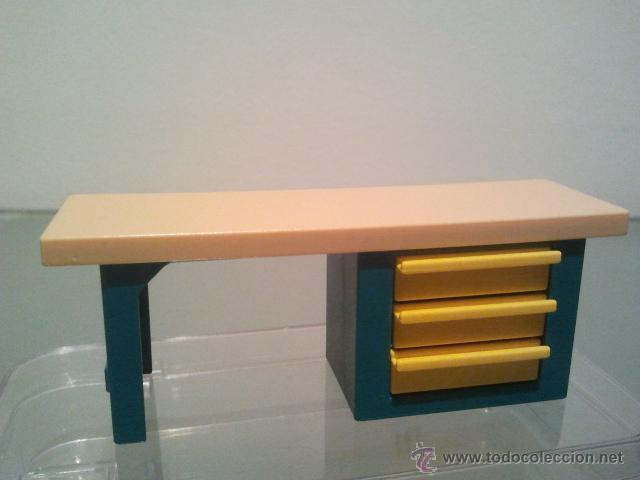 playmobil mesa oficina con cajones mueble lot98 - Comprar Playmobil ...
