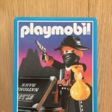 Playmobil: PLAYMOBIL 3814 BANDIDO MALETIN DINERO OESTE WESTERN DESCATALOGADO CAJA CERRADA. Lote 55140184