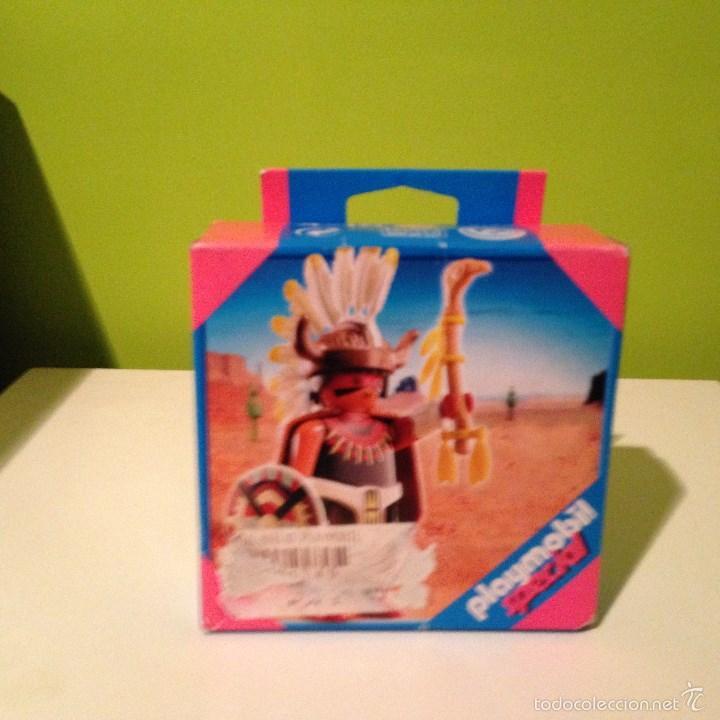 PLAYMOBIL ESPECIAL.JEFE INDIO (Juguetes - Playmobil)