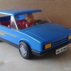 Playmobil: PLAYMOBIL - COCHE AZUL DESCAPOTABLE FAMILIAR AÑOS 80 - ( NO INCLUYE CLICK DE LA FOTO ) - VER FOTOS. Lote 55879545