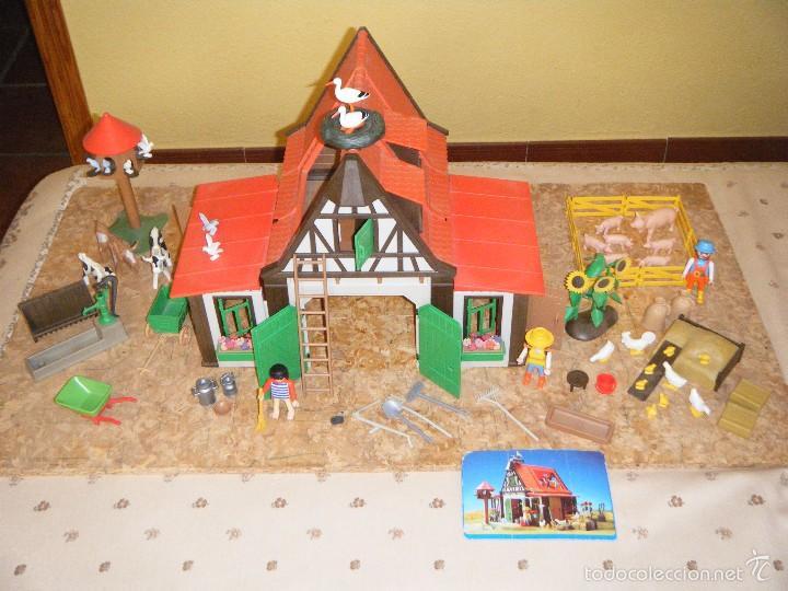 La granja de playmobil edici n de los a os 90 comprar for La granja de playmobil precio
