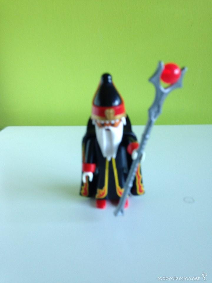 EXCEPCIONAL HECHICERO PLAYMOBIL (Juguetes - Playmobil)