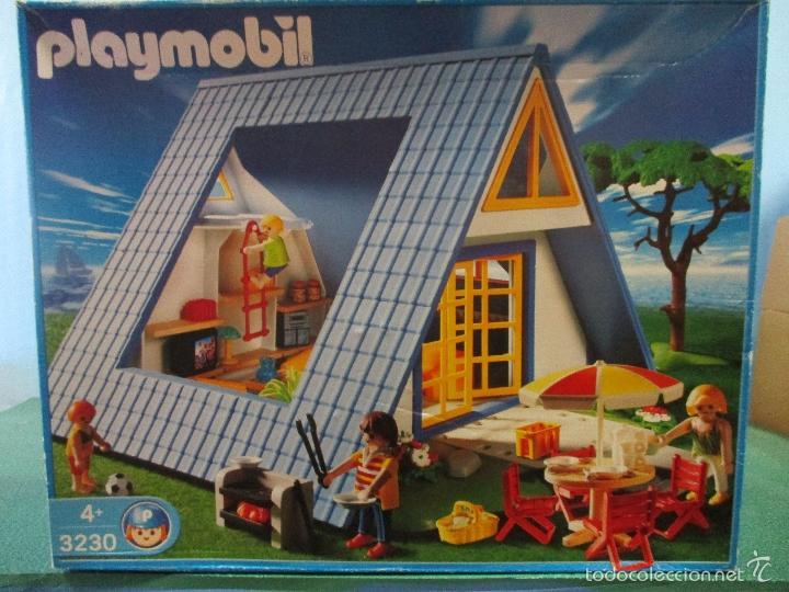 Playmobil ref 3230 casa de vacaciones campo pla comprar for Casa playmobil precio