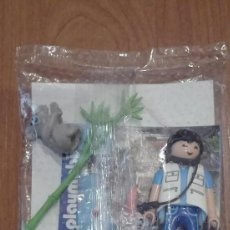 Playmobil: FIGURA PLAYMOBIL DOCTOR VETERINARIO CON KOALA Y BAMBU EXCLUSIVO QUICK PROMOCIONAL SIN ABRIR. Lote 56337787