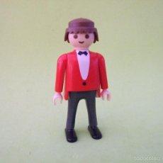 Playmobil: PLAYMOBIL NOVIO, INVITADO DE BODA, CAMARERO. Lote 56513626