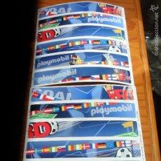 Playmobil: LOTE DE 2 PEGATINAS FUTBOL PLAYMOBIL.. Lote 56587460