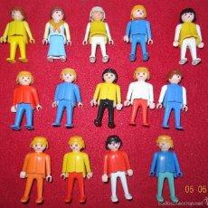 Playmobil: LOTE PLAYMOBIL 14 FIGURAS GEOBRA TODAS 1974. Lote 56603500
