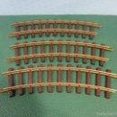Playmobil: PLAYMOBIL-LOTE DE 3 VIAS CURVAS-VIAS METALICAS TREN LGB. Lote 56669445
