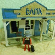 Playmobil: ANTIGUO BANCO BANK OESTE WESTERN - CLICKS FAMOBIL SYSTEM.ORIGINAL GEOBRA AÑO 1976 - REF. 3422 -. Lote 56729564