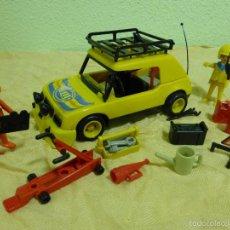 Playmobil: ANTIGUO COCHE RALLYE CON BARRAS ANTIVUELCO-CLICKS FAMOBIL SYSTEM.ORIGINAL GEOBRA AÑO 1976. REF. 3524. Lote 56744259
