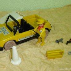 Playmobil: ANTIGUO COCHE AUXILIO EN CARRETERA - CLICKS FAMOBIL SYSTEM. ORIGINAL GEOBRA AÑO 1976.REFERENCIA 3219. Lote 56744778